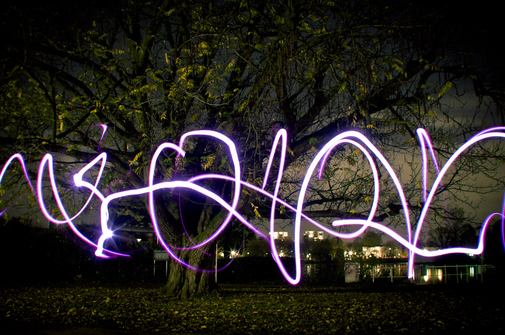 Lightpainting Tests