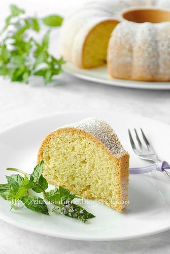 Ciambella alla Menta-Mint Cake