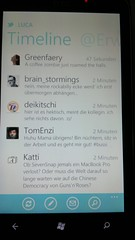Windows Phone 7 Twitter