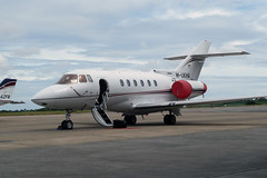 M-UKHA Hawker 800XP (Guernsey Airport Photography) Tags: guernseyairport mukha hawker800xp nebulaiiiltd