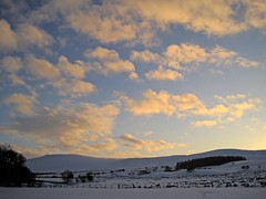 Cotton Wool Clouds (RoystonVasey) Tags: canon digital ixus 95 is cumbria lake district ldnp winter snow ice cold caldbeck fells high pike hesket newmarket