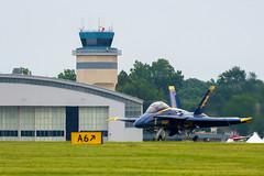 US Navy F-18 Blue Angel @ 2017 NY Air Show (JMFusco) Tags: stewartinternationalairport aircraft fa18hornet aviation f18 newyorkairshow2017 blueangels usnavy usn airplane