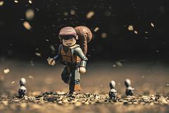 Unbeatable (3rd-Rate Photography) Tags: squirrelgirl greatlakesavengers doreengreen squirrel marvel minimates toy toyphotography canon 100mm macro 5dmarkiii actionfigure superhero 3rdratephotography earlware