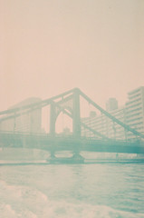Rainbow Bridge (kowei) Tags: rainbowbridge bridge japan tokyo 彩虹大橋 日本 東京 橋 light tide sea レインボーブリッジ