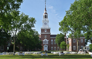 Baker Tower, Dartmouth College, Hanover, New Hampshire