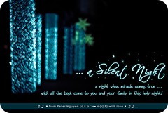 .a silent night! ( Peter Nguyen) Tags: christmas xmas holynight 50mmf18 silentnight d80 heartbokeh shapedbokeh