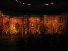 The Lady and The Unicorn tapestries (Sparky the Neon Cat) Tags: paris france museum lady de la europe du musee national age middle dame unicorn iledefrance ages cluny tapestry licorne tapestries moyen theladyandtheunicorn museedecluny museenationaldumoyenage ladamealalicorne