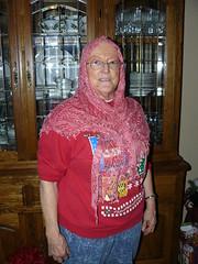 Can I just put on my head like this? (alimysunshine) Tags: silk sundara silklace