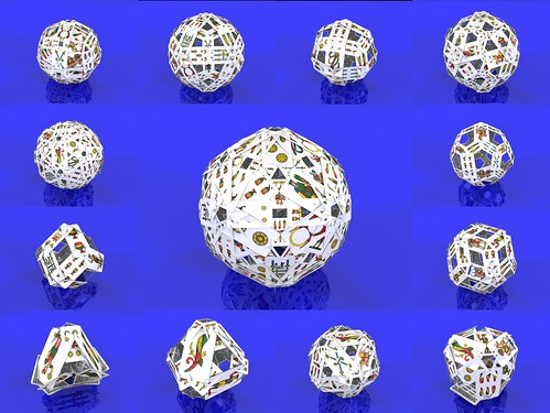 Playing cards polyhedra : the 13 Catalan solids