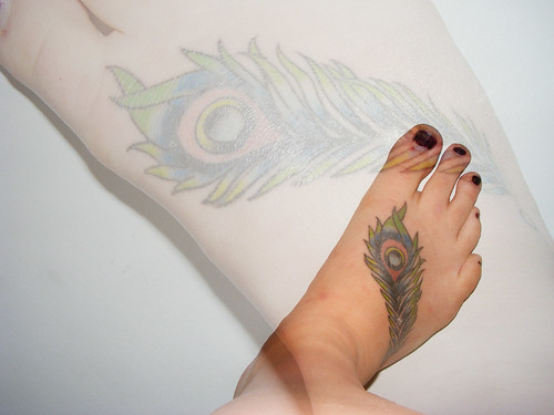 Peacock Feather Tattoo by creativemistake. From creativemistake
