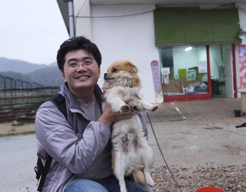 沙灘車 韓國 狗狗