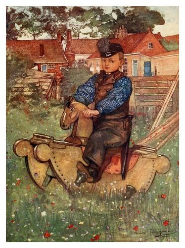 005- Un niño de Veere a lomos de un caballo de balancín-Holland (1904)- Nico Jungman