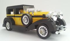 Rolls Royce Phantom II (bricktrix) Tags: lego rollsroyce ii vehicle phantom phantom2 indy2 rollsroycephantomii indianajones2 indianajones2game