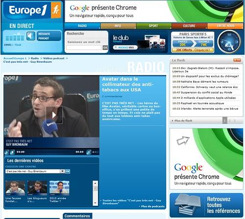 Chrome Europe1