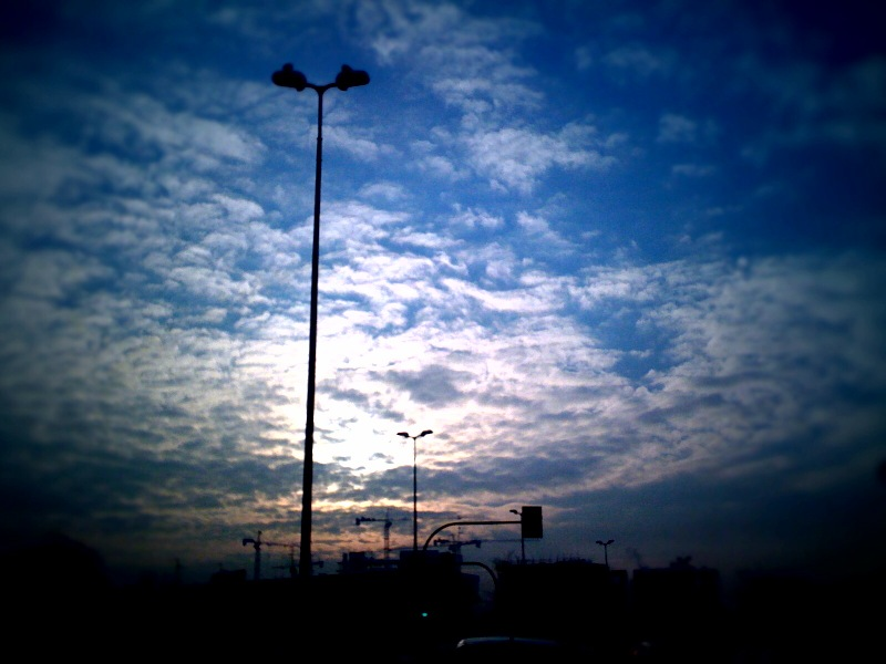 Pensive Sky