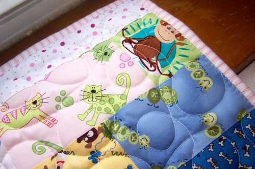 The Girls' Doll Quilt