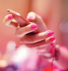 iLove y o u.... (v3vo-- away.) Tags: birthday pink happy nikon hand bokeh nail polish l nailpolish hotpink part2 hbd d80 nikond80 ipodtouch sara3 msvevo nothingtouploud 912010
