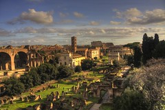 Once upon a time... (melisendra23) Tags: city rome roma church ancient basilica forum foro colosseum chiesa damn 1001nights antico hdr colosseo rovine itsnotaboutyou superaplus aplusphoto platinumheartaward picsforpeace 1001nightsmagiccity