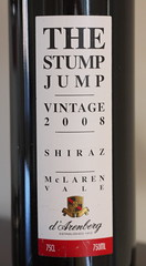 the Stump Jump wine
