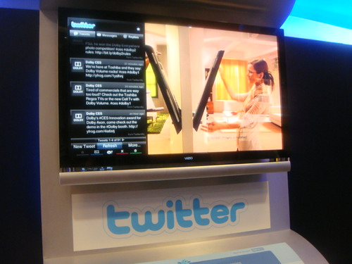 `Twitter TV Widget