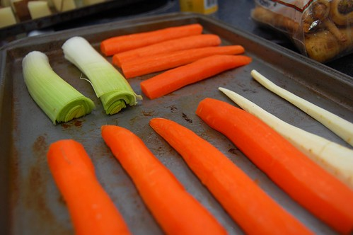 Carrots, Leeks and Parsnips