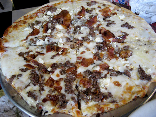 Meat and Cheese Lover Pizza