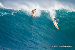 Surfing a huge swell at Waimea Bay, on the north shore of Oahu, Hawaii. (Sean Davey Photography) Tags: surf surfing hugesurf bigwavesurfers bigwavesurfing giantsurf surfbigwave color horizontal seandavey surfnorthshore surfhistory heavywave biggestwaves powerfulwaves giantwaves surfersphotographs imagessurf hawaii usa waimeabaynorthshoreoahu