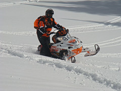 Another of me at Togwotee (ND M1000) Tags: mountain snow spring yamaha arcticcat sled snowmobile skidoo wy polaris togwotee
