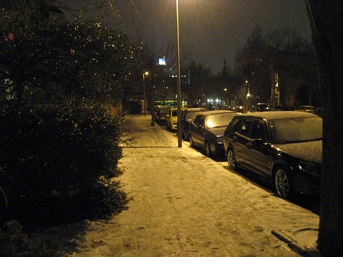 My street after days of icyness