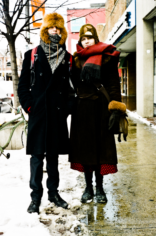 Warm Together, Toronto Street Fashion @ Dundas St W. and McCaul St., Toronto