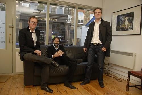 Simon McDonnell, Jean-Paul Van Cauwelaert & John Walsh