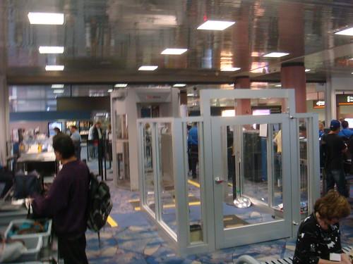 Full Body Scanner at Las Vegas Airport
