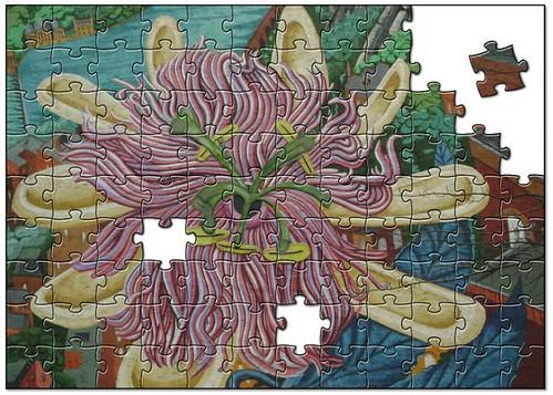 jigsaw mural located in West Philadelphia