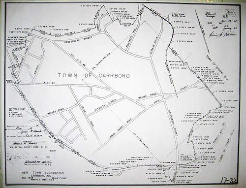 19 1969 Carrboro Town Limits