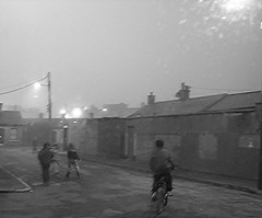 fog (Brenda Malloy) Tags: street old ireland girls dublin boys fog children fun play brenda neighbourhood malloy nikoncoolpix diogenes24