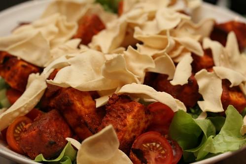 Tandoori Tofu Salad 3