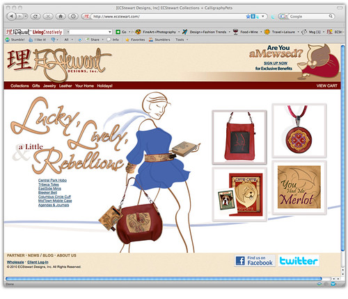 2010 ECStewart Web Site
