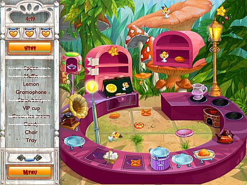 Play Alice's Tea Cup Madness Game