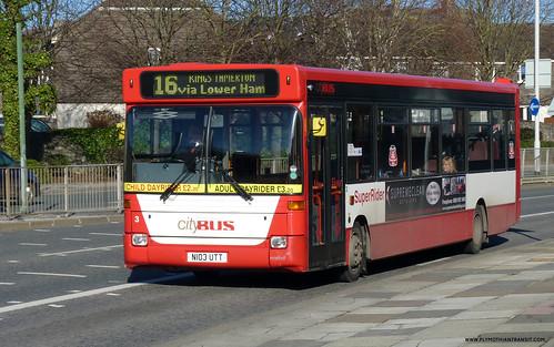 Plymouth Citybus 003 N103UTT