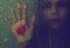 You promised.... (rosalee mcgilvery) Tags: portrait selfportrait canon shower photography 50mm break heart upset xsi heartbroken