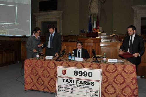 Comunicazione integrata Taxi: più sicurezza e legalitÃ