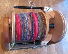 HansenCrafts miniSpinner with 5.5 oz handspun