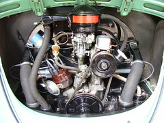 Stock 1963 VW Beetle Engine. (63vwdriver) Tags: horse vw volkswagen hp power air stock engine cc 1200 motor 40 1963 cooled