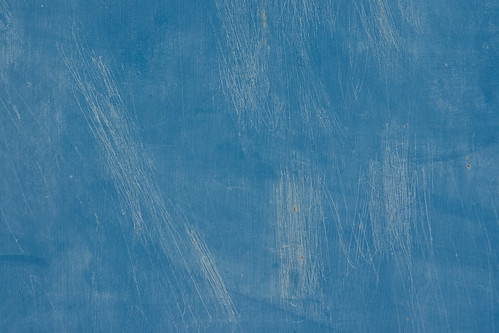 Texture: Metal Painted Blue with White Scratches