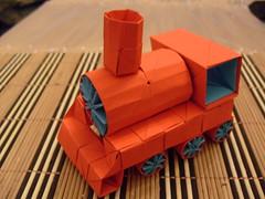 train by Toshikazu Kawasaki (*Muffin*) Tags: train origami toshikazukawasaki