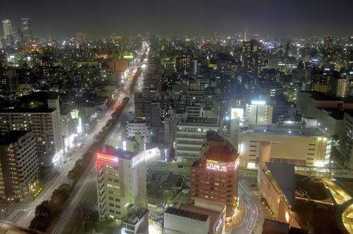 Nagoya la nuit HDR