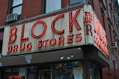 Block Drug Store - Lower East Side - Manhattan