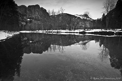 Reflections - Yosemite Park, California, USA (Rich Capture) Tags: trees snow water reflections river rocks stream veil falls richard yosemite bridal lanscape valleyview tunnelview richardmatyskiewicz matyskiewicz