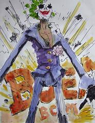 joker sketch 50x70 (Rik Wielheesen) Tags: party illustration poster penguin sketch piers decoration batman joker catwoman illustratie twoface schets rikwielheesen