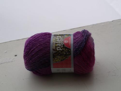 Pinkki-violetti sukkalanka.